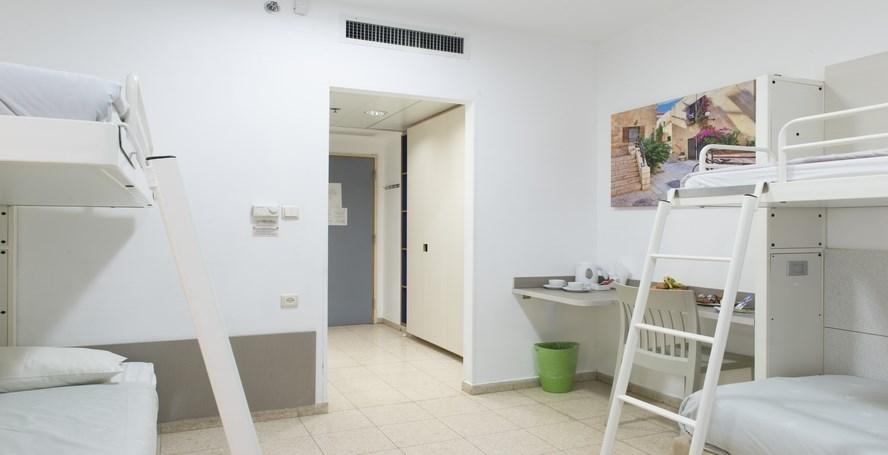 HI Rabin - Jerusalem - Family room